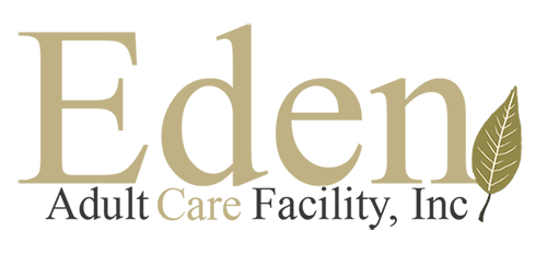 Eden Adult Care Facility logo, senior assisted living community homes in the Phoenix Arizona east valley area.