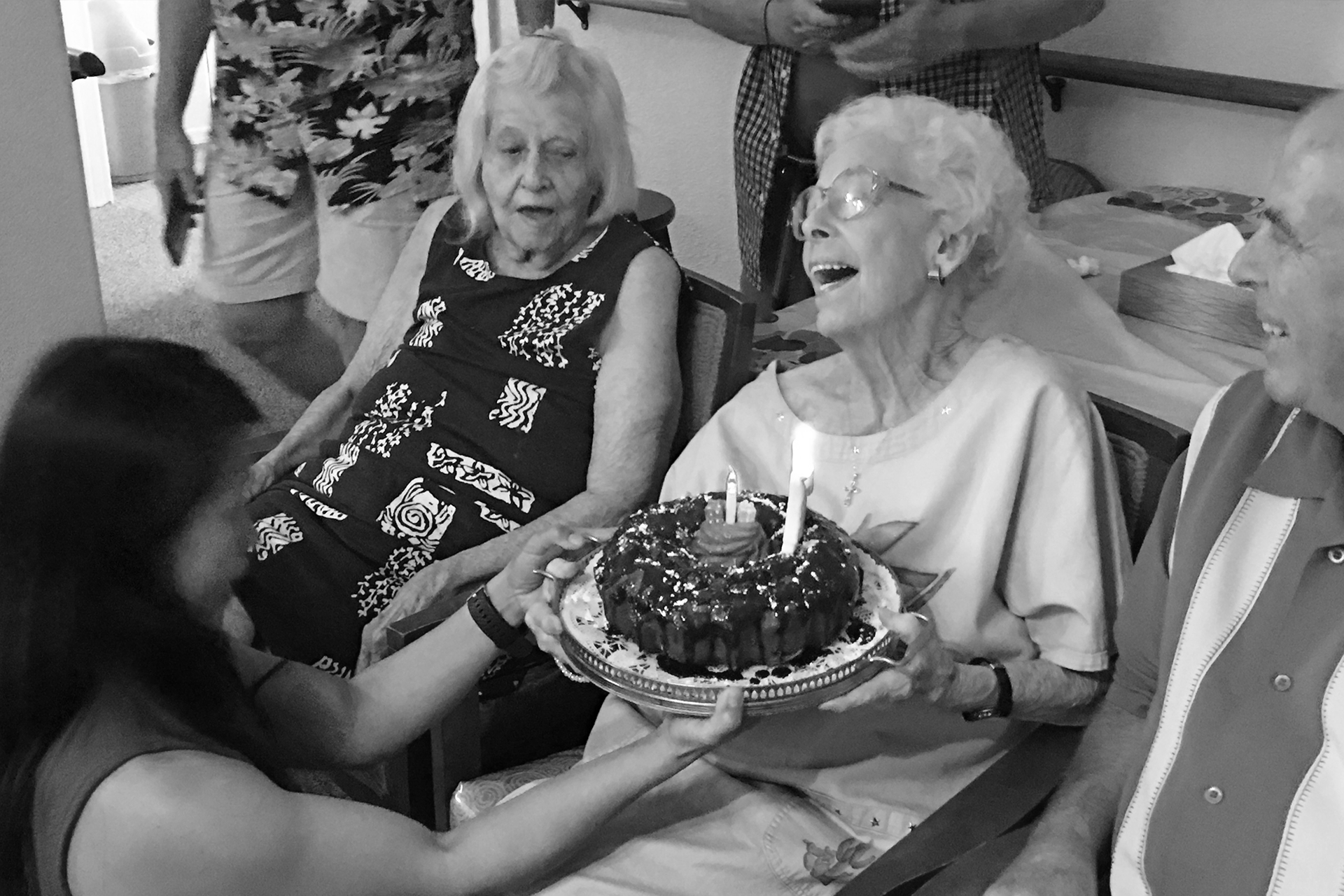 Halloween parties, birthday parties and other theme parties are always happened at Eden Adult Care Facility, senior assisted community homes, located in Gilbert and Mesa Arizona, serving the Phoenix Arizona east valley area.