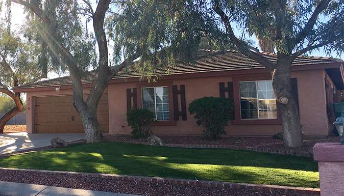 Eden Adult Care Facility, senior assisted living community home at 216 South 98th Way in Mesa Arizona 85208.